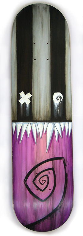 Rupture Skate Deck by Doktor A.