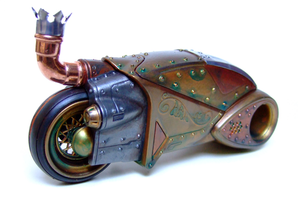 steampunk Tron toy