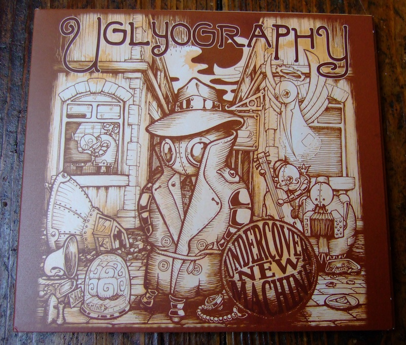 Uglyography CD art by Doktor A.