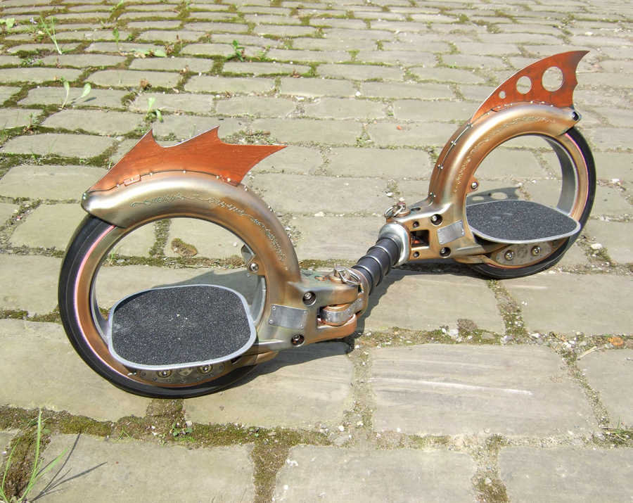 steampunk doktor A skate cycle