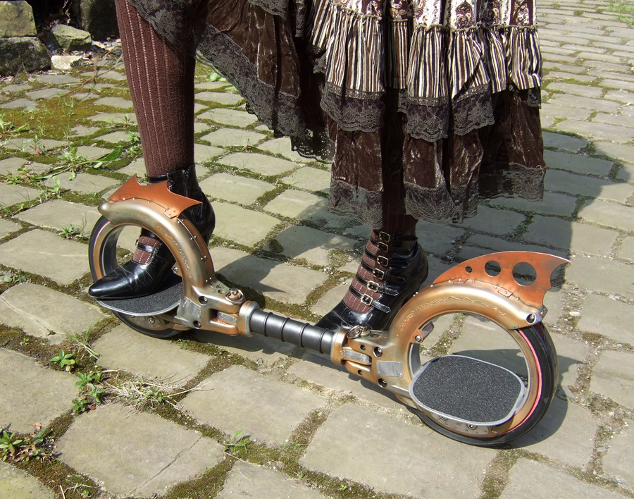 Nemesis Steampunk Skate Cycle