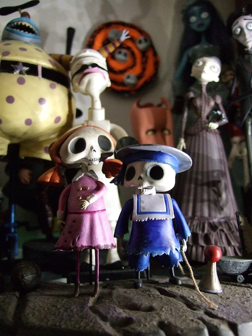 Tim Burton toy  collection
