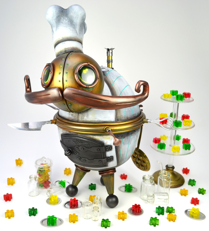 Confectioner Mechtorian sculpture