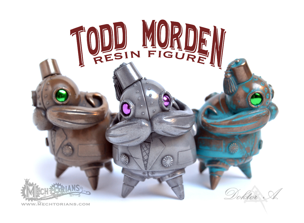 Todd Morden Mechtorian resin figure by Doktor A Bruce Whistlecraft
