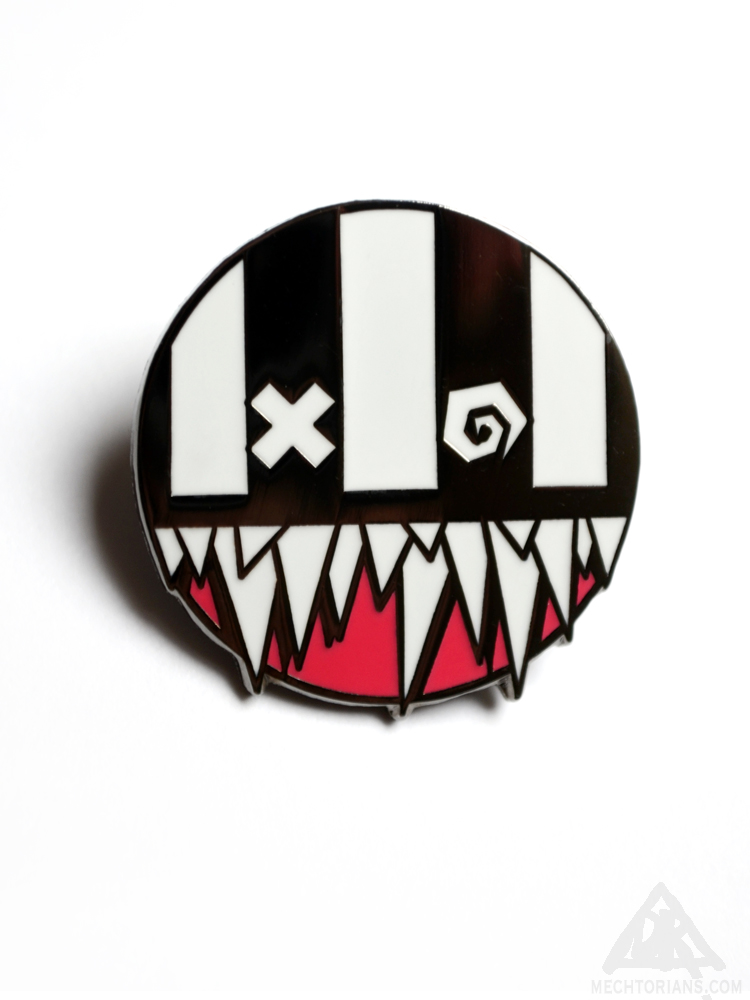 Rupture Enamel Pin by Doktor A.