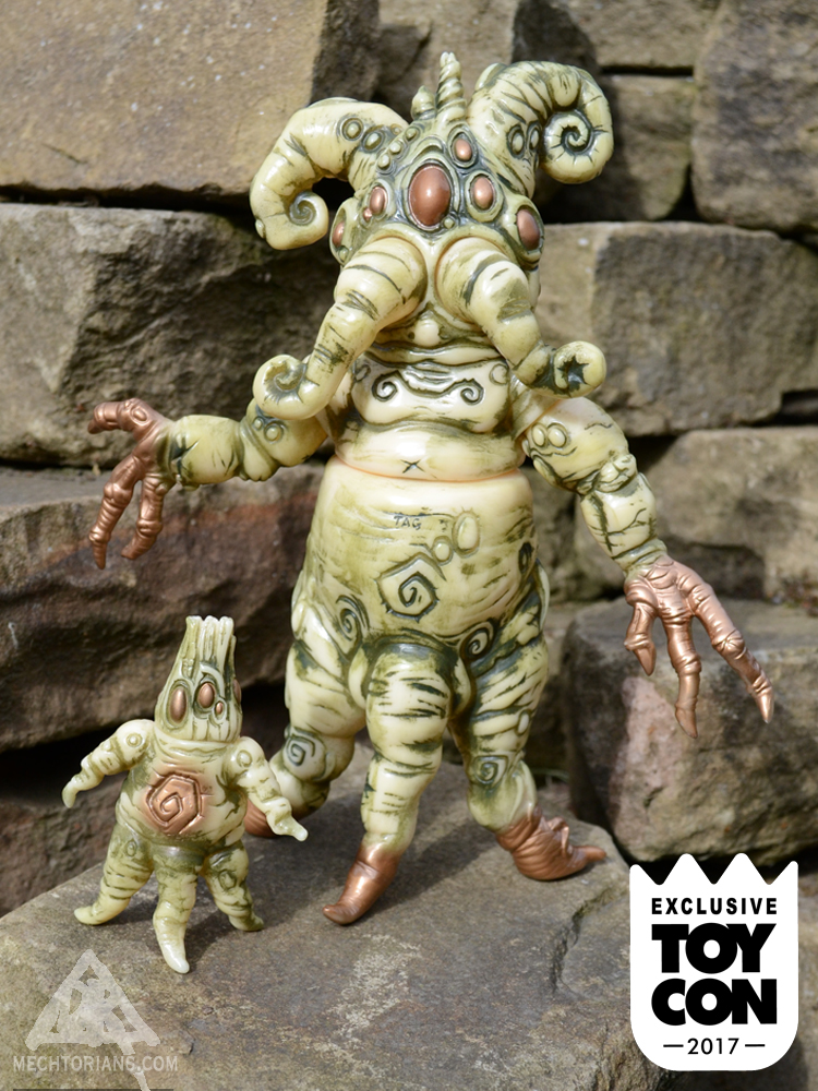 Toycon UK Mandrake toy by Doktor A and Toy Art Gallery