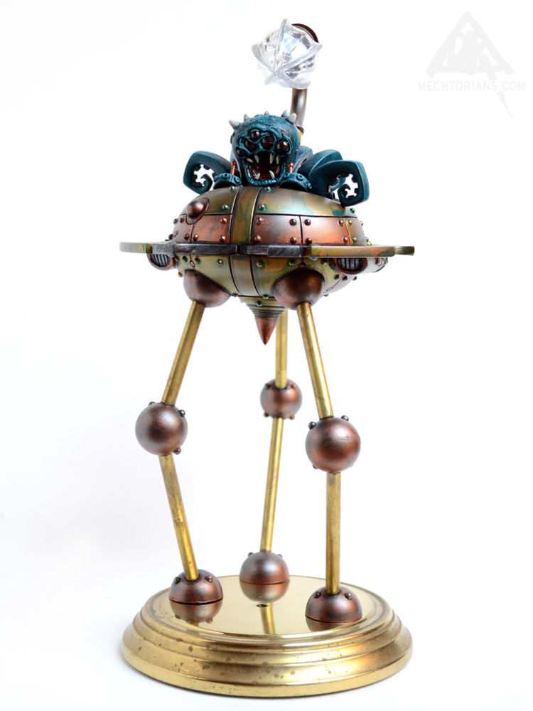 Doktor A Bruce Whistlecraft Martian Tripod model War Of The Worlds
