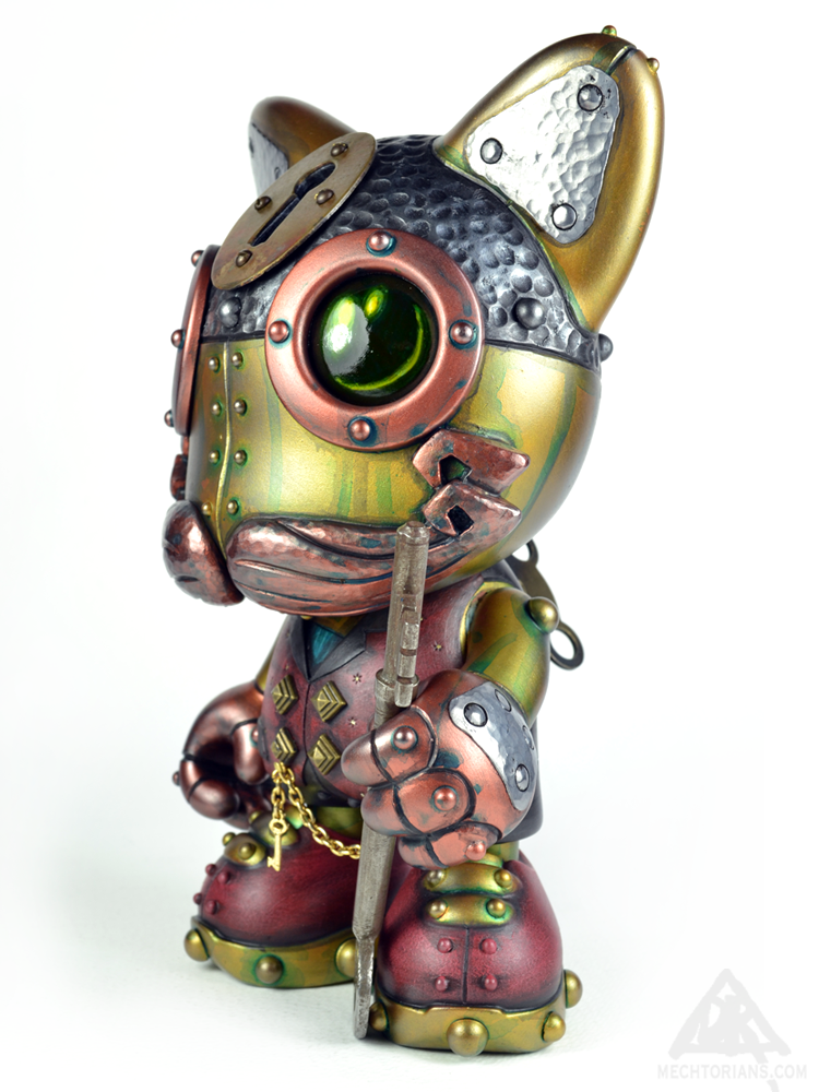 Doktor A mechtorian robot Janky Custom toy. From Superplastic.