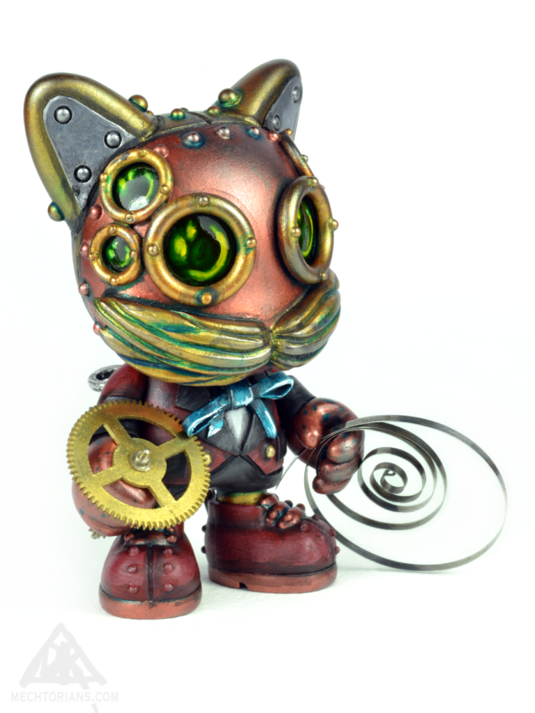 The Clockworker Mechtorian Janky Custom. The Airship Factory series by Doktor A. Bruce Whistlecraft.