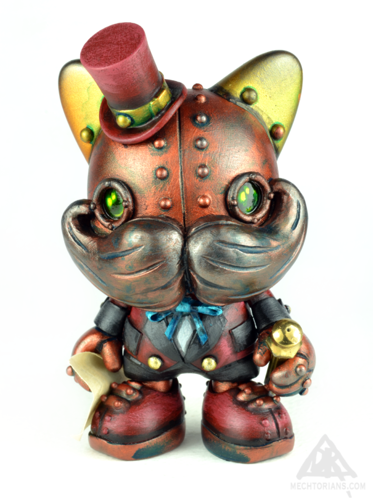 Airship Factory Janky custom Mechtorian toy series by Doktor A.